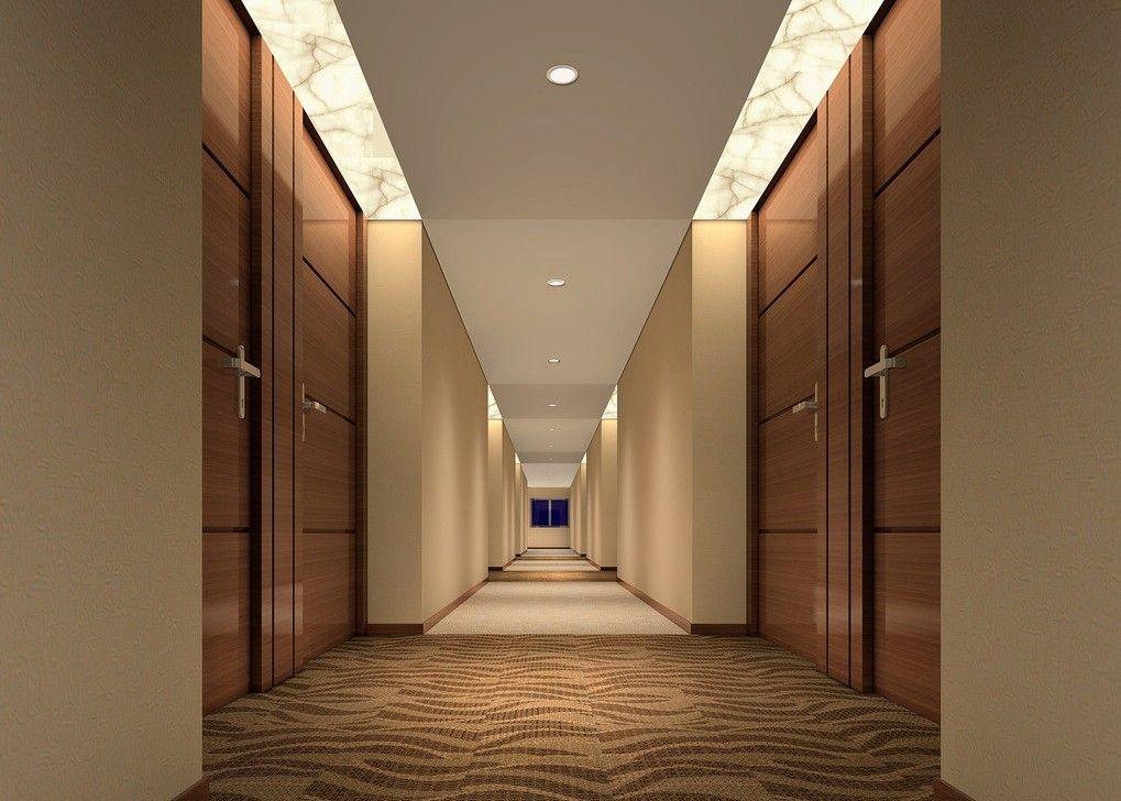 hotel design | Fashion contracted corridor chain business ...