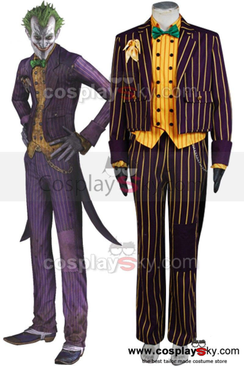 Batman-Arkham-Asylum-Joker-Cosplay-Costume-New-6 | Film ...