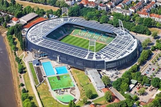 Nome Weserstadion Bremen Alemanha Clube Werder Bremen Inauguracao 1924 Lotacao 42 100 Espectadores