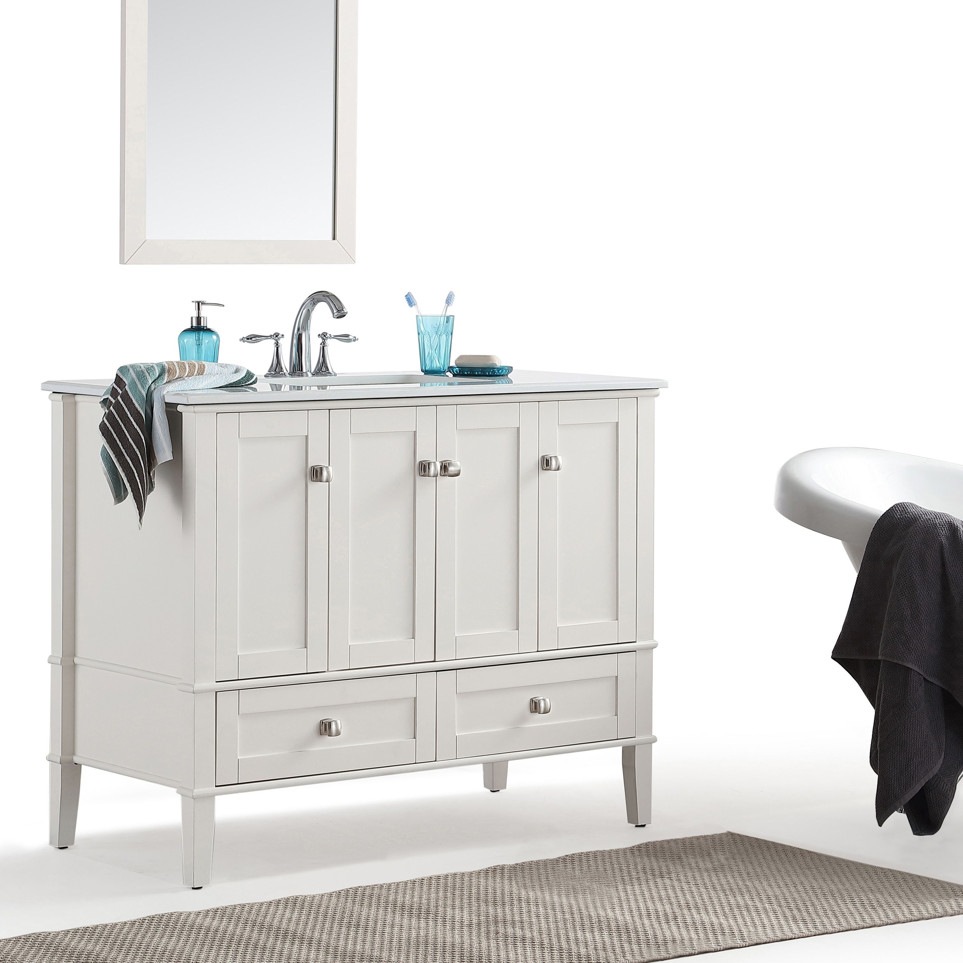 Our Best Bathroom Furniture Deals Marble Vanity Tops Single Bathroom Vanity Bathroom Vanity