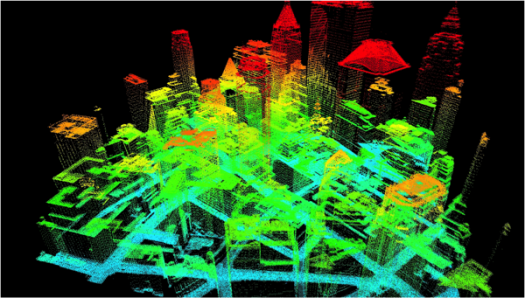 Lidar Imagery Showing Solar Potential Of Nyc Buildings Image Via Stateoftheplanet Used Solar Panels Solar Panels For Home Building Images