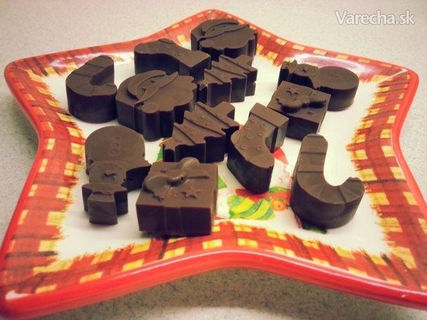 Čokoládové bonbóny (fotorecept)