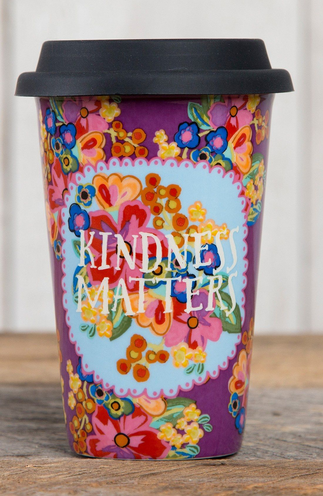 Natural Life Kindness Matters Ceramic Thermal Mug Nordstrom Thermal Mug Mugs Cool Mugs
