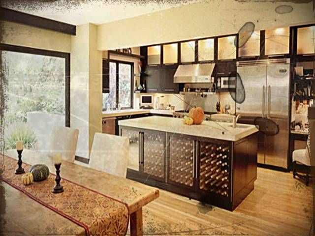 Kitchen Cabinets Las Vegas | Black kitchens, Black kitchen ...