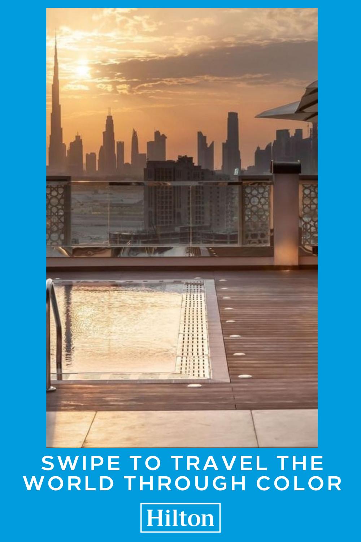 Coloring Inspiration Hilton Garden Inn Dubai Al Jadaf Culture Village In 2020 Hilton Rooftop Pool Hilton Garden Inn