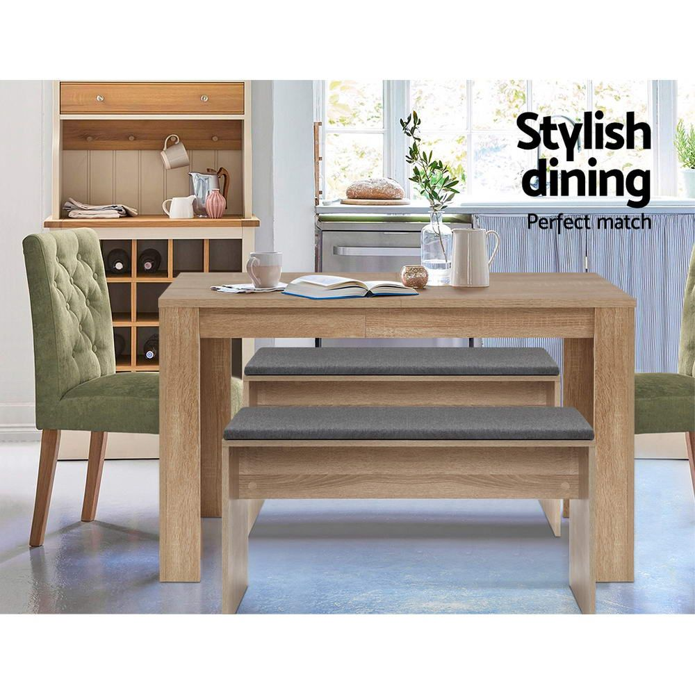 Reeves 4 Seater Dining Table Online Only Natural Matt