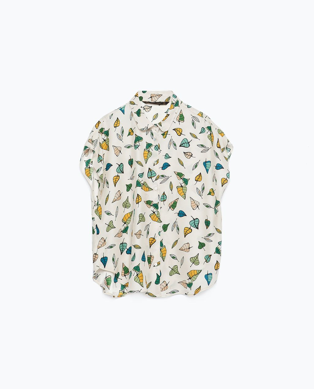 4cfec37d0 SEIDENBLUSE von Zara White Silk Blouse, Silk Top, Zara Tops, Zara United  States