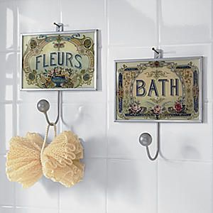 Set of 2 Bath Hooks from Seventh Avenue ®