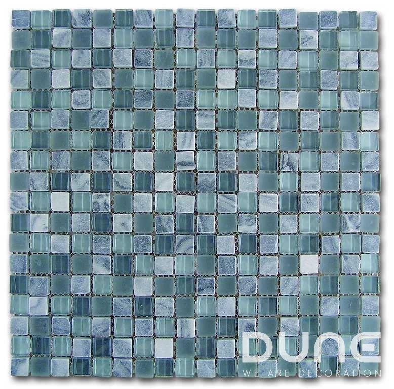 """MOSAICO GREY-GLASS 29,3x29,3 cm./ 11,54""""x11,54""""  Mosaico elaborado con ónix combinado con cristales en tonos grises. #duneceramica #diseño #calidad #diferenciacion #creatividad #innovacion  #tendencia #moda #decoracion #design #quality #differentiation #creativity #innovation #trend #fashion #decoration"""
