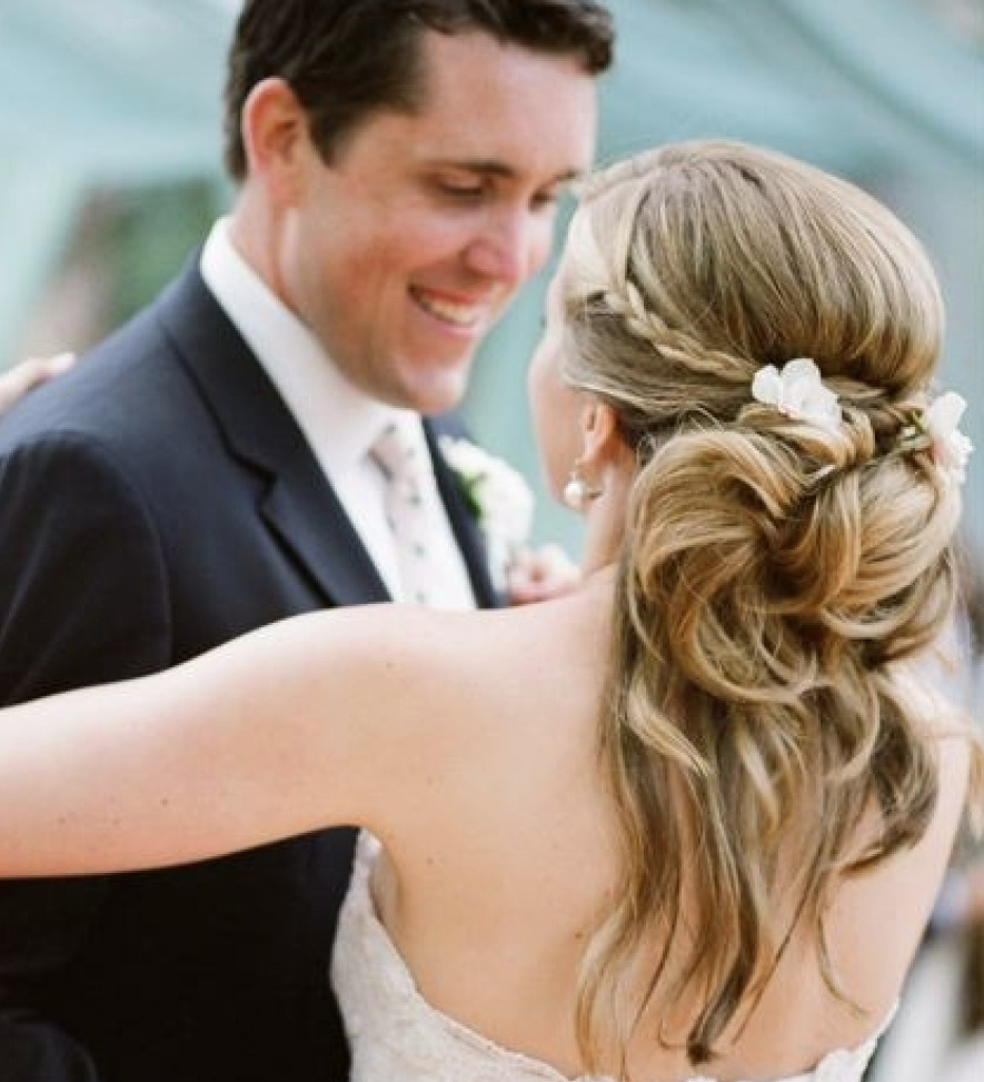 33 Half Up Half Down Wedding Hairstyles To Try Koees Blog: Swoon-Worthy Wedding Hair Inspiration