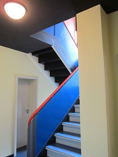 stairs at the bauhaus school