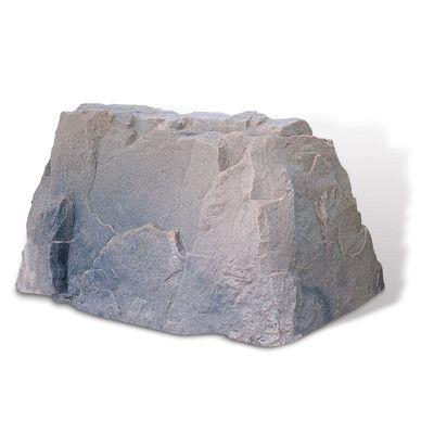 DekoRRa Products Rock Cover Statue Color:
