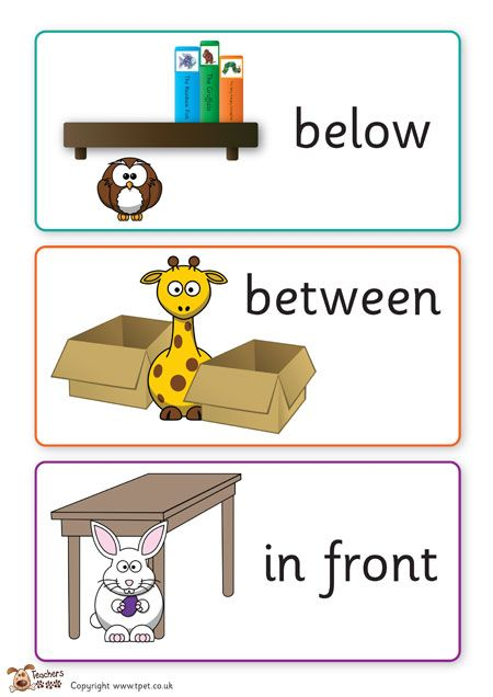 teacher 39 s pet positional language cards free classroom display resource eyfs ks1 ks2. Black Bedroom Furniture Sets. Home Design Ideas