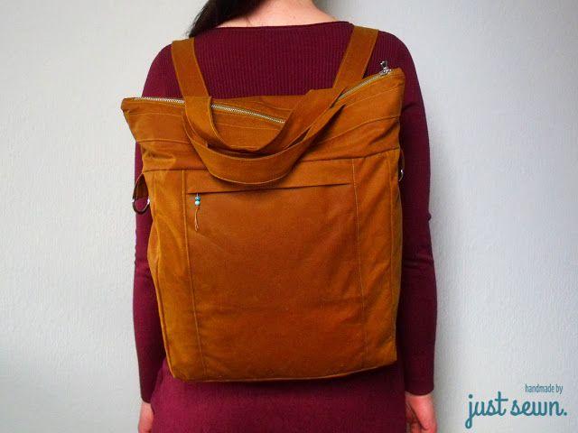 Elsbag, drei in eins | just sewn. | Pinterest
