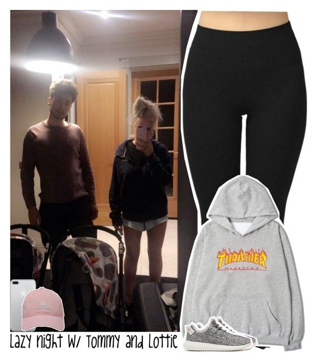 """""""Lazy night with Tommy and Lottie"""" by lottieaf ❤ liked on Polyvore featuring adidas Golf, adidas Originals, OneDirection, louistomlinson, LottieTomlinson and tommynapolitano"""