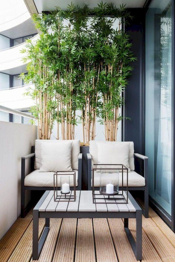 60 gemütliche Wohnung Balkon Deko-Ideen - Wohnaccessoires #wohnungbalkondekoration