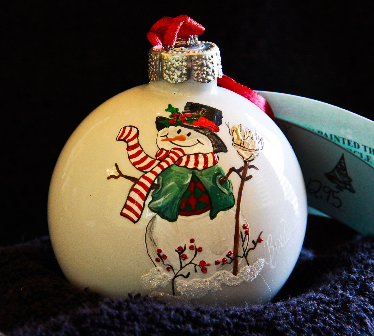 Hand Painted Ornament Painted Christmas Ornaments Painted Ornaments Christmas Ornaments Homemade