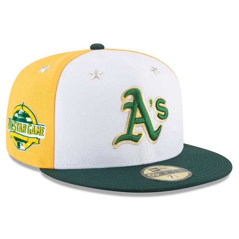 many styles best sneakers retail prices Oakland Athletics New Era 2018 MLB All-Star Game On-Field 59FIFTY ...