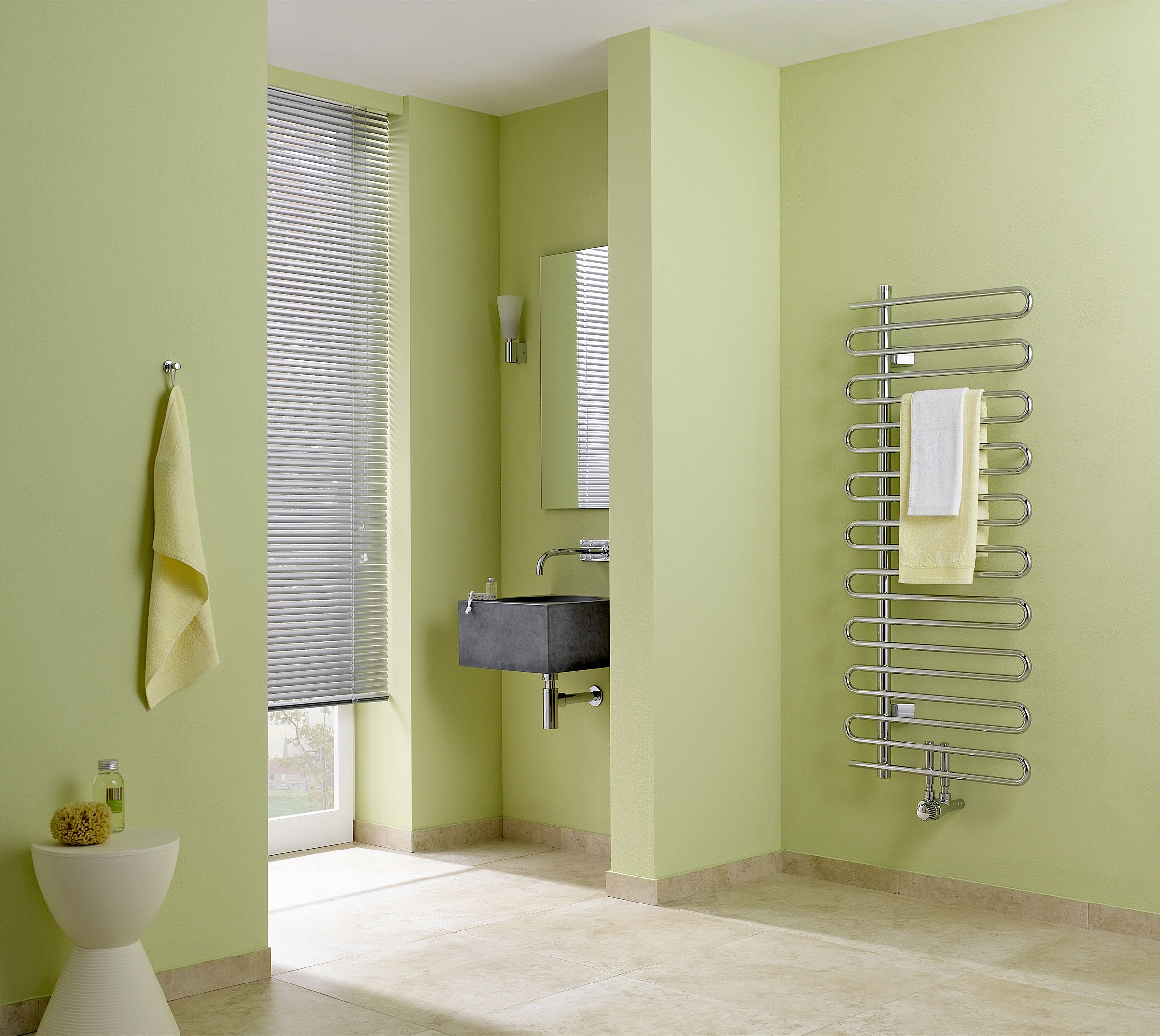 Another great towel rail that goes well