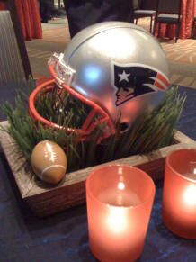 Nfl wedding reception centerpiece idea wedding ideas pinterest nfl wedding reception centerpiece idea junglespirit Images