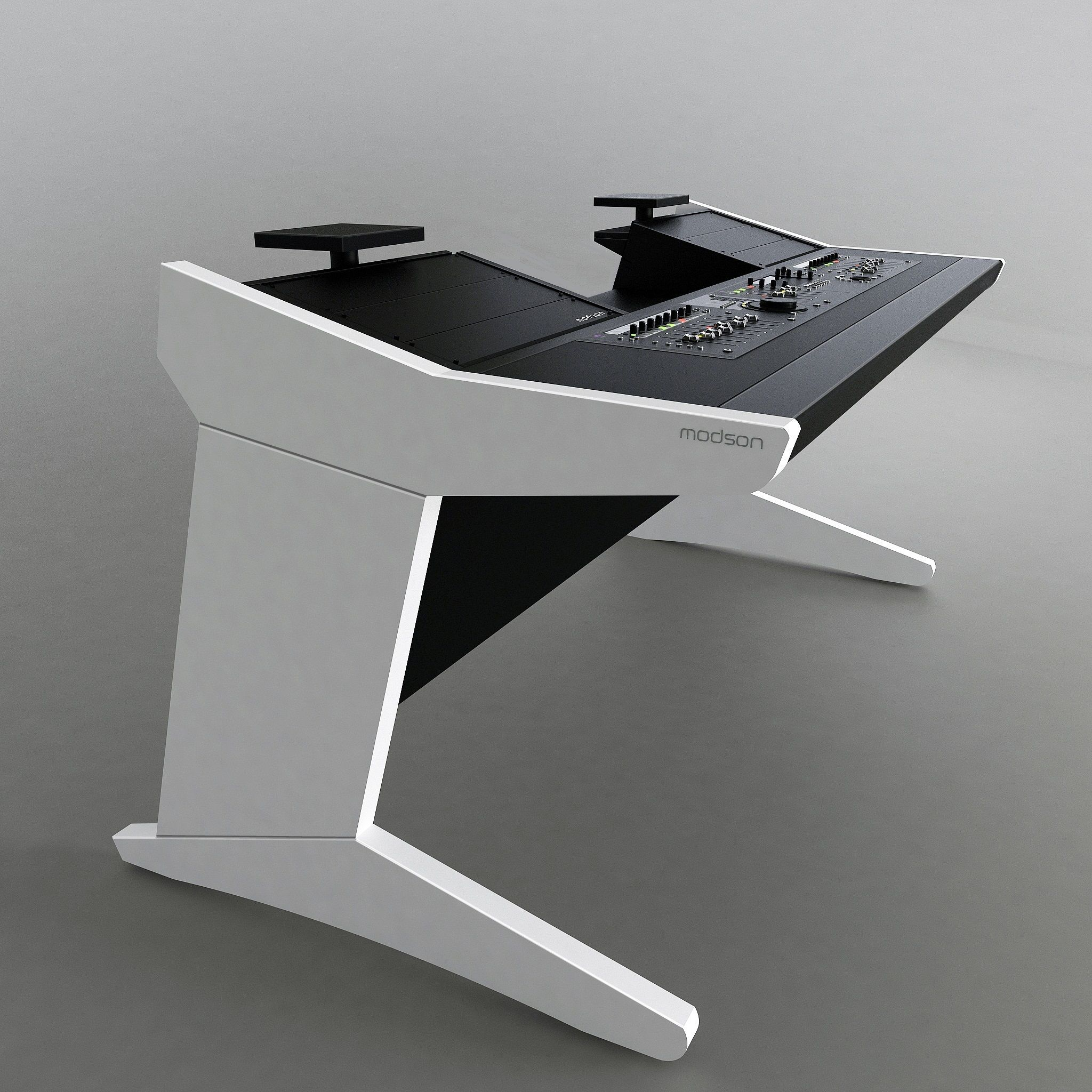 Modson Xplore 2 0 Meuble Studio D Enregistrement Meuble Pour Studio De Recording Studio Furniture Studio Desk Home Studio Desk