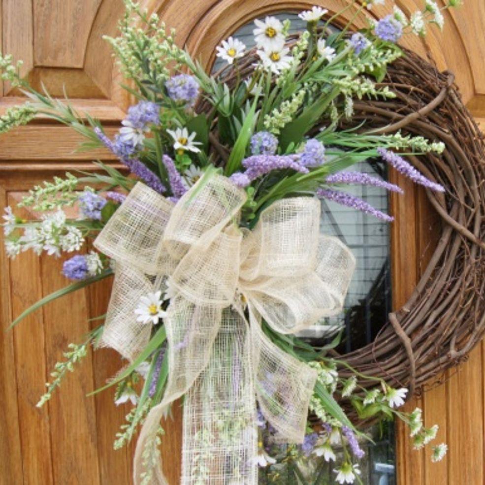 Simple Diy Spring Decor Ideas: Wreaths, Summer Wreath
