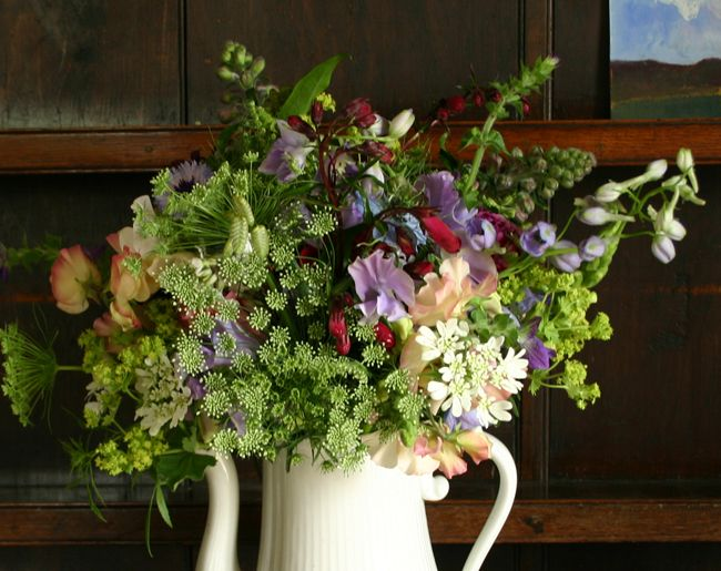 BOUQUETS by post, english country flowers grown and arranged in ...