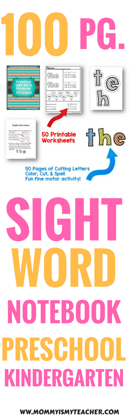 Wow, I love these sight word worksheets! They are great for ...