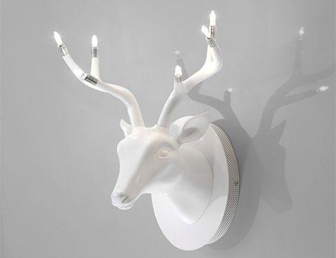 Lampen Gebraucht Kaufen Ebay Kleinanzeigen Wandleuchte Hirschkopf Hirschgeweih Lampen
