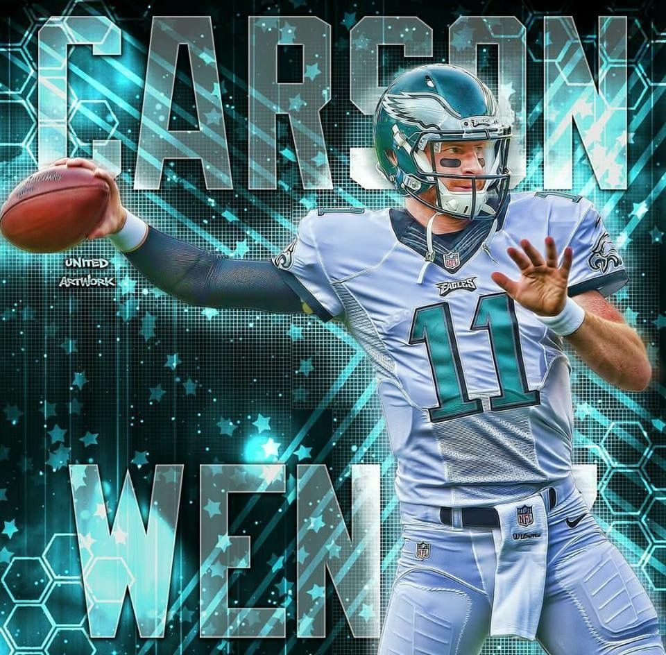 Philadelphia Eagles Qb Carson Wentz Https Www Fanprint Com Licenses Philadelphia Eag Philadelphia Eagles Football Philadelphia Eagles Nfl Philadelphia Eagles
