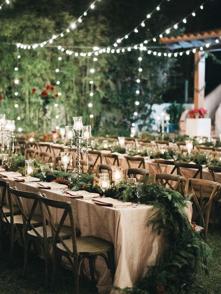 7 Ways to Get Creative With String Lights Modern Wedding