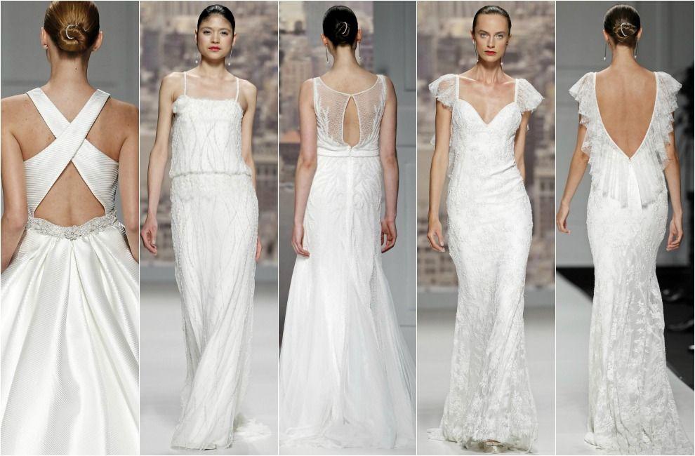 Tendencias de novia 2015: Espaldas al aire | Espalda, De novia y Hola