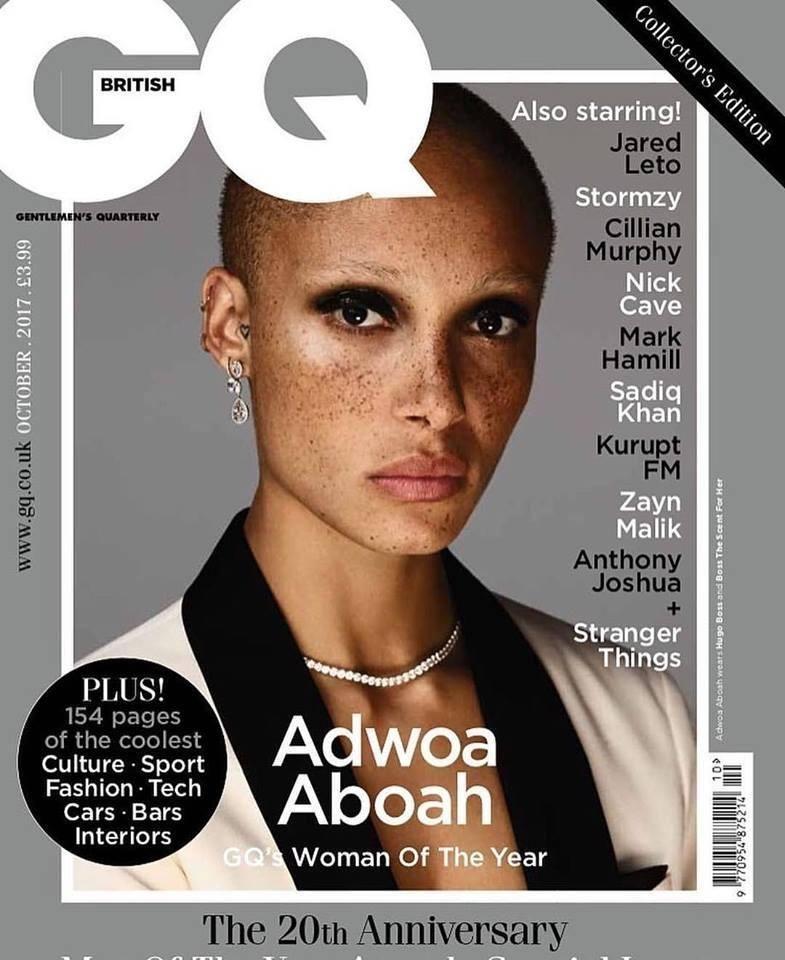 British GQ October 2017 Covers (British G.Q.)