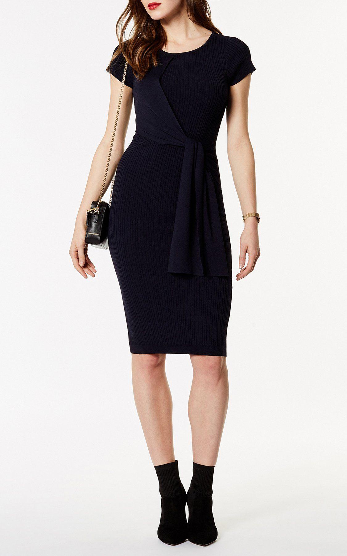 d5f89eba84f Платье с драпировкой на талии Karen Millen