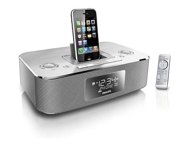 Amazon Com Philips Dc290 37 30 Pin Ipod Iphone Alarm Clock Alarm Clock Iphone Philips Alarm Clock