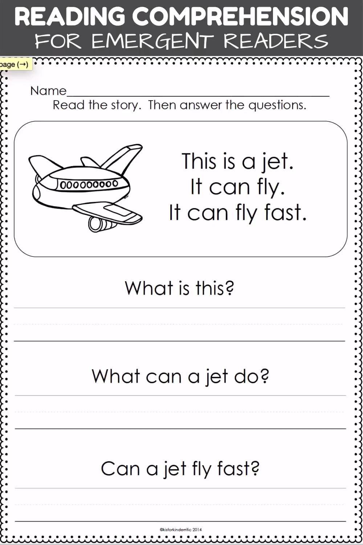 Reading Comprehension Passages For Emergent Readers Video In 2020 Kindergarten Reading Worksheets Reading Comprehension Kindergarten First Grade Reading Comprehension [ 1500 x 1000 Pixel ]