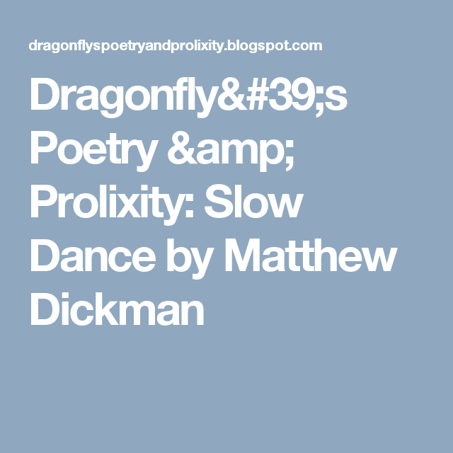Matthew Dickman Poems 2