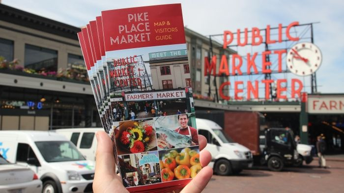 Visitors Guide and Map. Not impressed with Pike Market ...