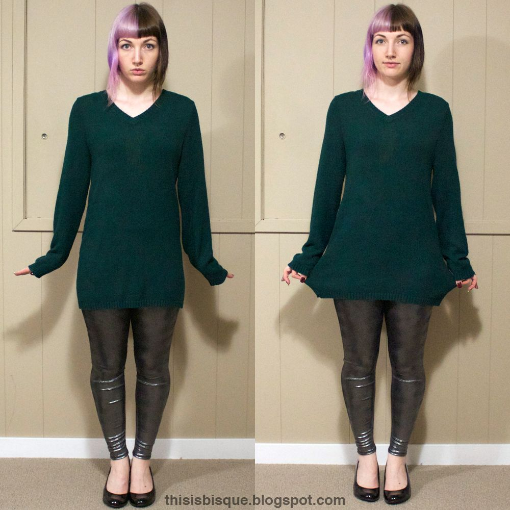 This is Bisque: DIY | Oversized Sweater Reconstruction | Craft ...