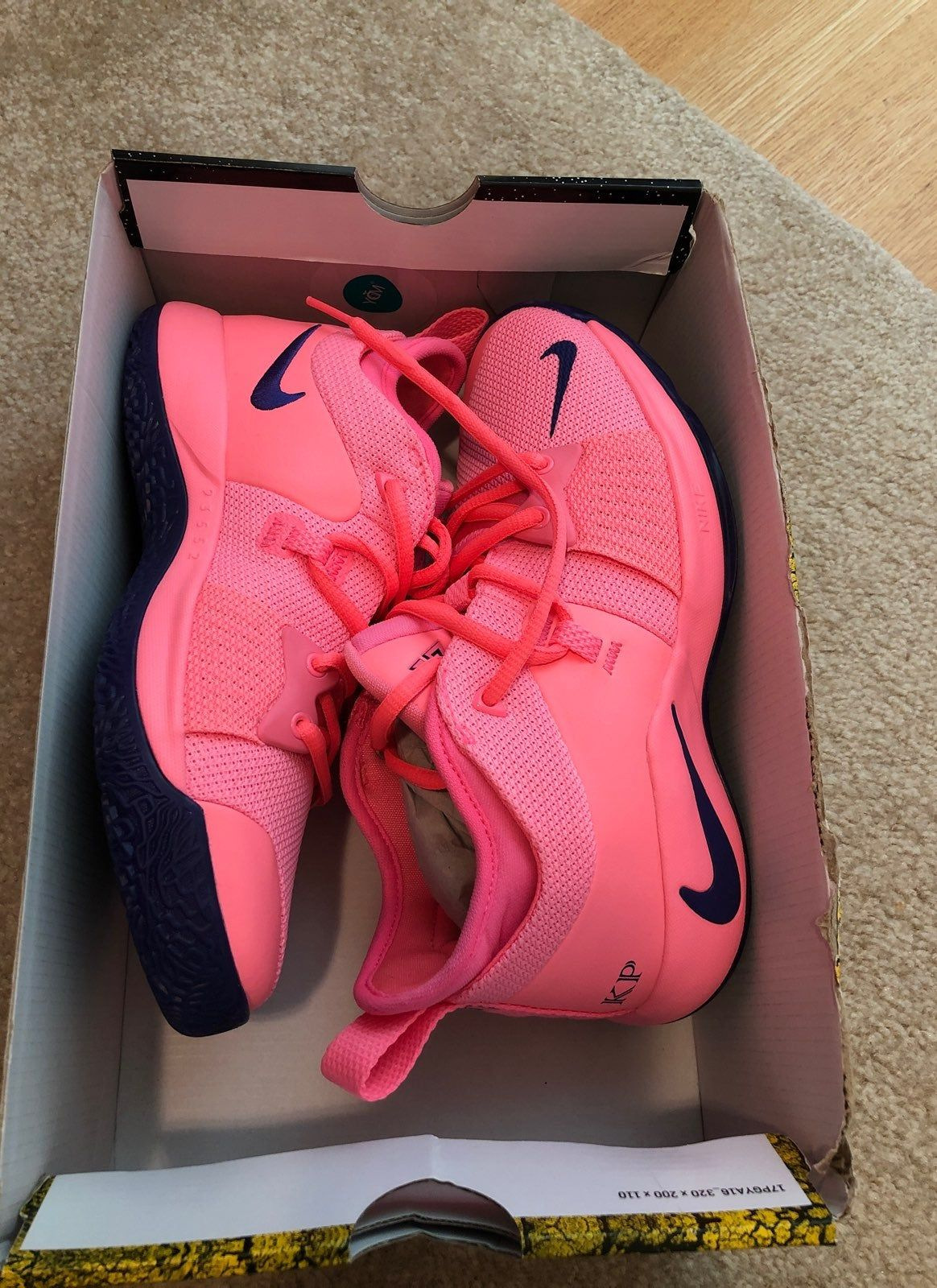 New Bright pink and purple Paul George