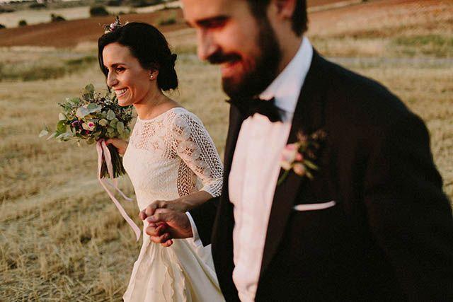 laura y david, bonita boda rústica en puertollano   wedding