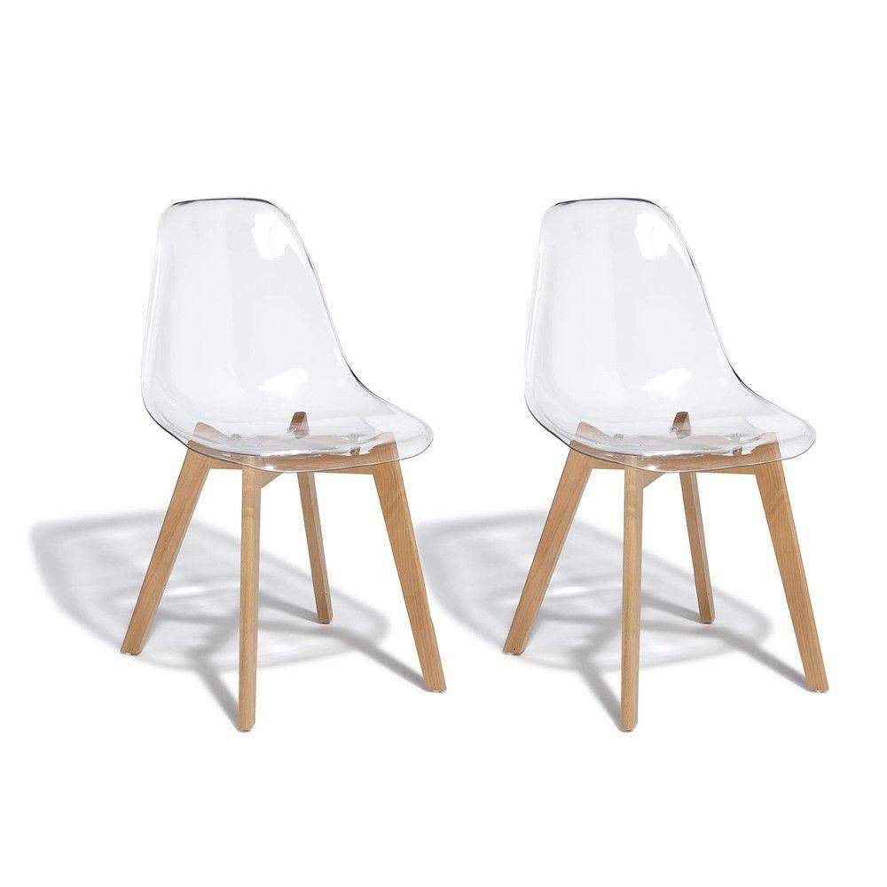 gifi chaise transparente