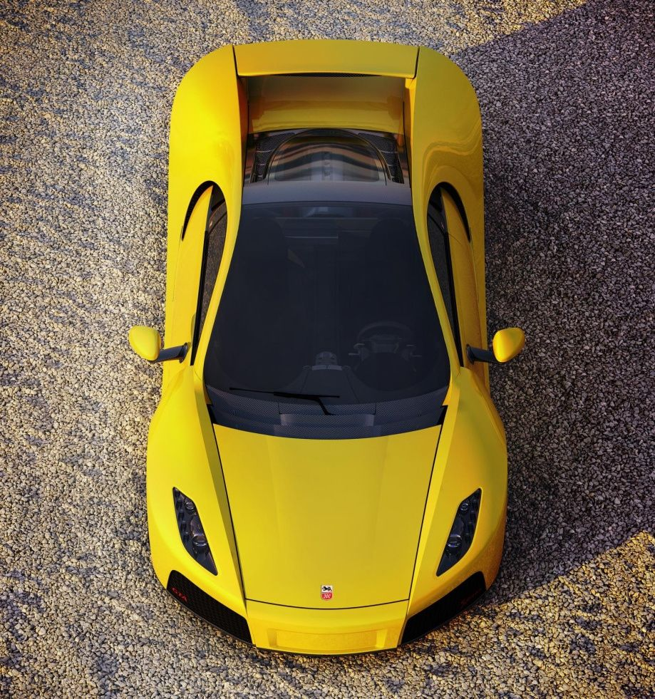 2013 supercharged 8.4L V10 GTA Spano churns out 900hp (20