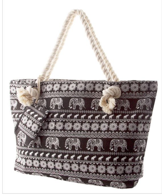 Best Selling shop item, summer Large Tote Handbag, Aztec print Bag ...