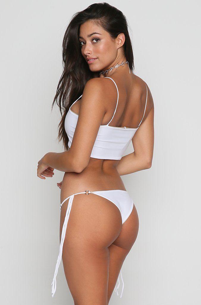 d6cd6d6ab18a0 Marla Reversible Bikini Bottom in White