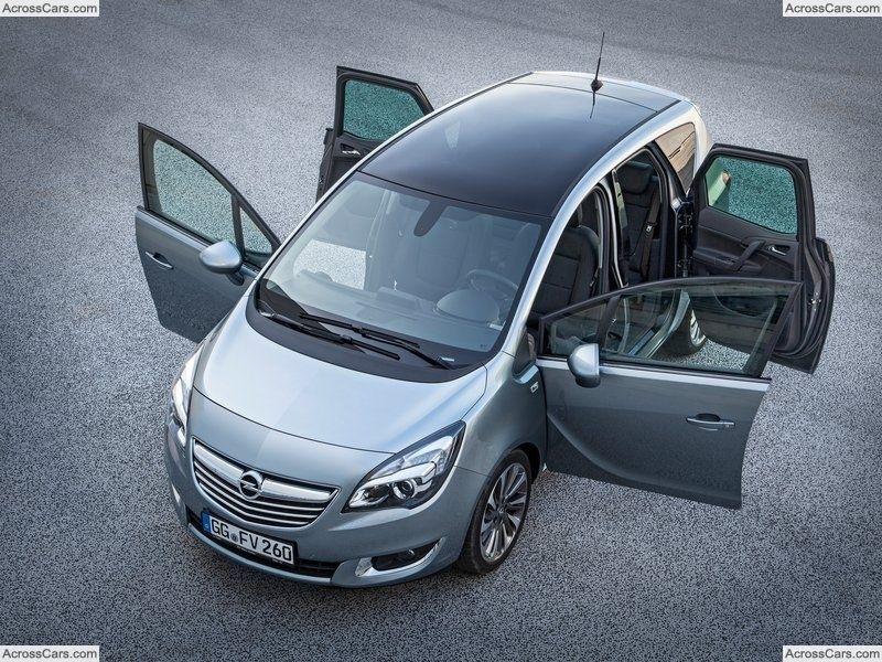 Opel Meriva 2014 Opel Meriva Opel Mini Van