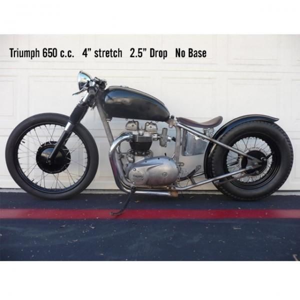Lowbrow Customs / Triumph Unit 650 / 500 c c  Bolt-On
