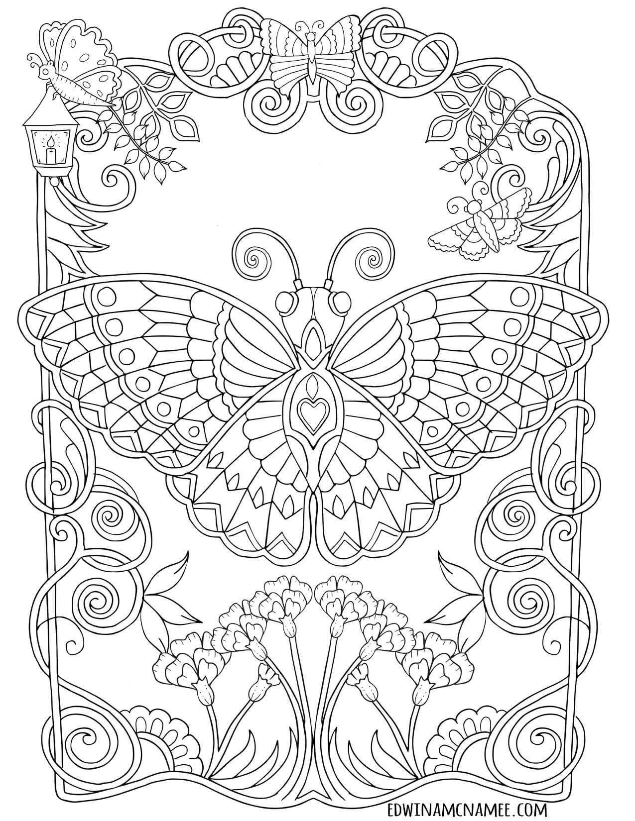 Pin By Gabbe Fernandes On Coloring Pages Love Coloring Pages Cute Coloring Pages Butterfly Coloring Page [ 1650 x 1275 Pixel ]