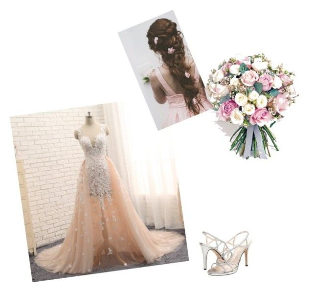 """""""My wedding dress"""" by jorjathompson on Polyvore featuring Caparros and Philippa Craddock"""