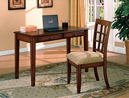 1perfectchoice Traditional Hawthorne Home Office Desk And Chair Set Wall S Furniture Decor Furniture Desk And Chair Set Best Home Office Desk Office desk and chair set